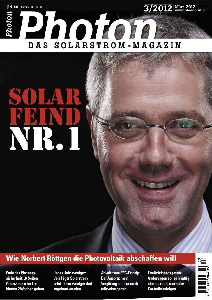 € 4,60 · Österreich € 5,00                                                                                  3/2012 März 20...