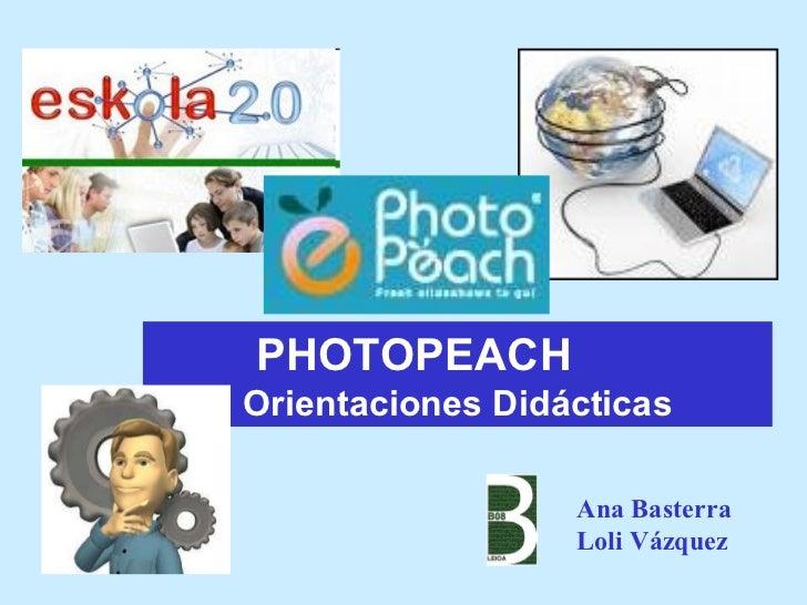 Photopeach orientaciones didacticas_2011