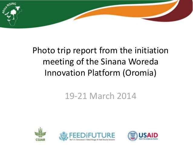 Photo trip report from the initiation meeting of the Sinana Woreda Innovation Platform (Oromia), 19-21 March 2014