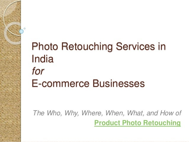 Photography and Image Retouching Business Name?