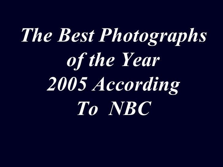 Photos 2005 - The Best