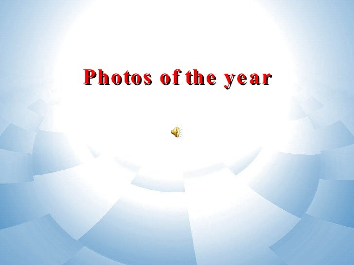 Photos of the year