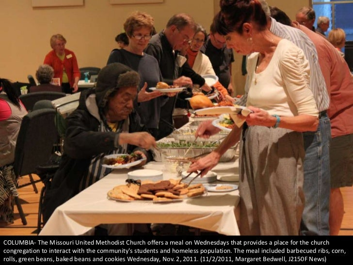 COLUMBIA- The Missouri United Methodist Church offers a meal on Wednesdays that provides a place for the churchcongregatio...