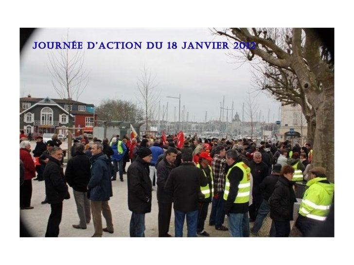 Photos action du 18 janvier 2012