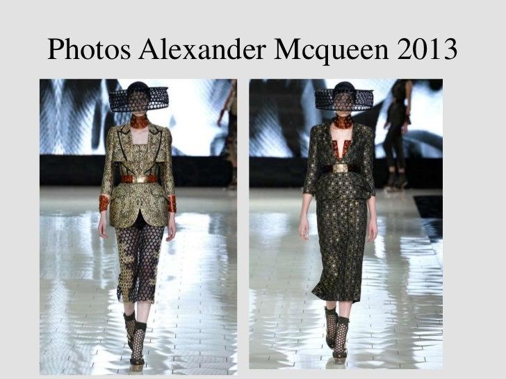 Photos Alexander Mcqueen 2013