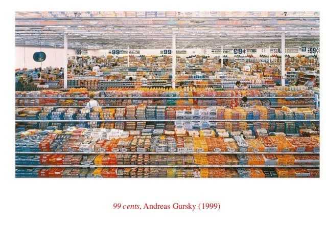 99 cents, Andreas Gursky (1999)