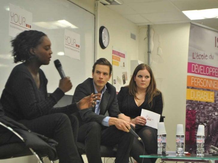 Photos de la Conférence avec Rama Yade le 4 Mars 2011
