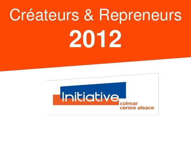 Créateurs & Repreneurs  2012