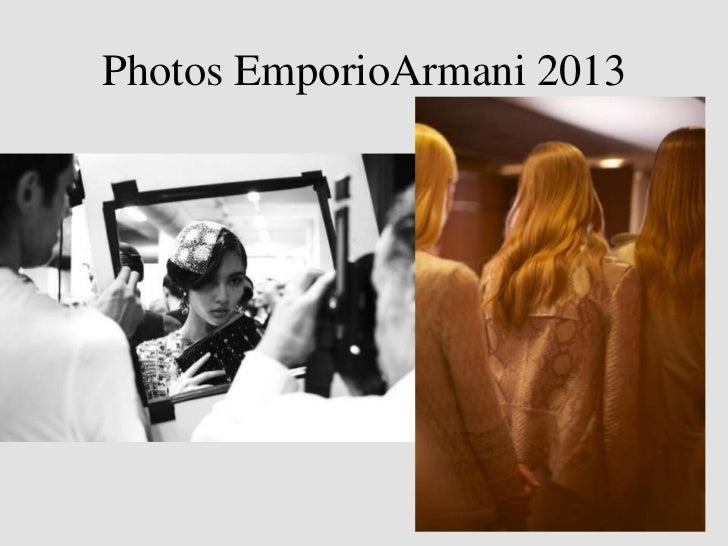 Photos emporio armani 2013