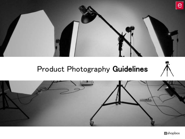 Product Photography Guidelines