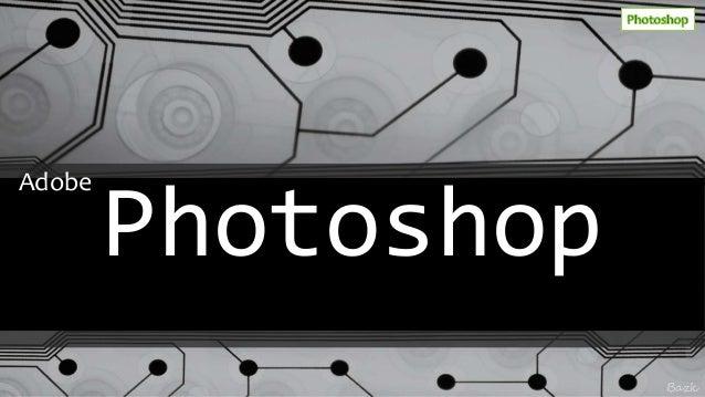 Bazk Photoshop Adobe