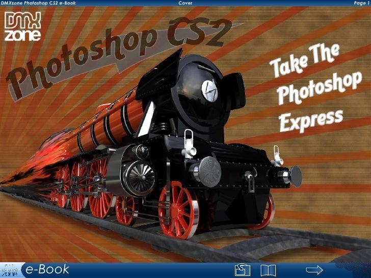 DMXzone Photoshop CS2 e-Book   Cover   Page          e-Book