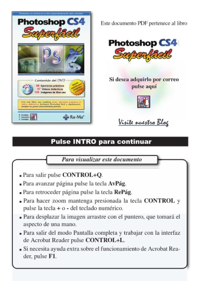 Photoshop cs4 superfacil