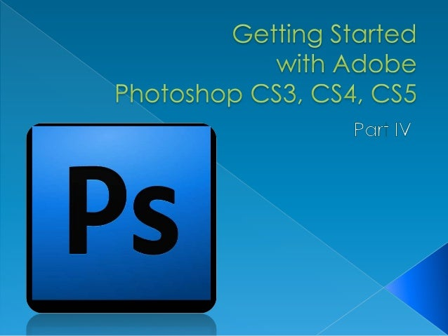 Photoshop getting started part4