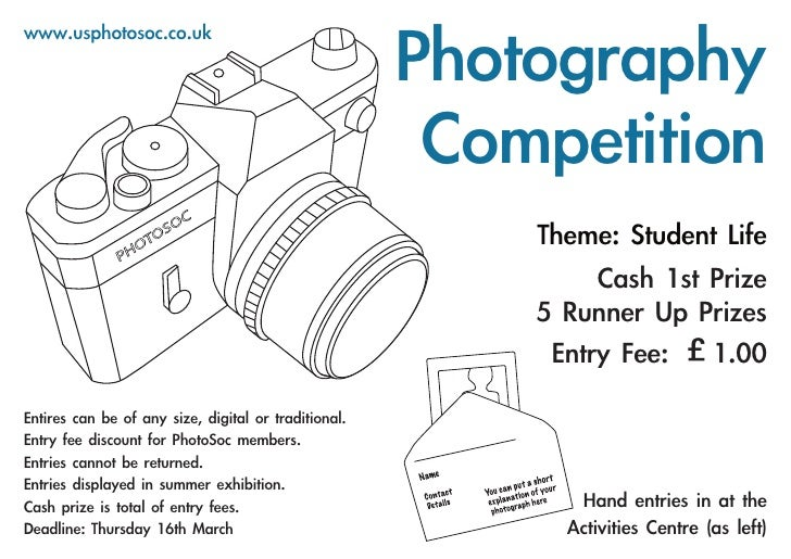 Photography society poster