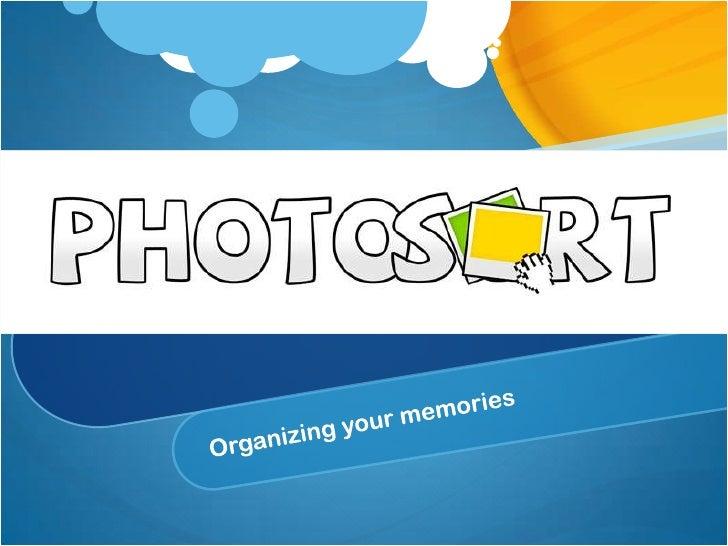 Photosort VentureLab2012