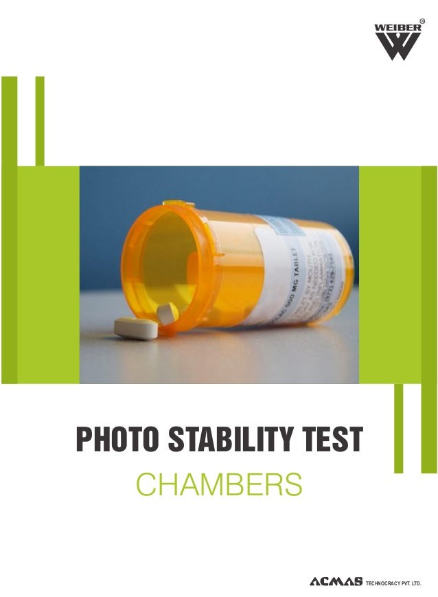 Photostability Test Chambers by ACMAS Technologies Pvt Ltd.