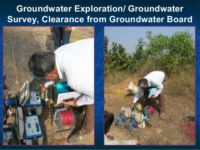 Groundwater Exploration/ Groundwater Survey, Clearance from Groundwater Board