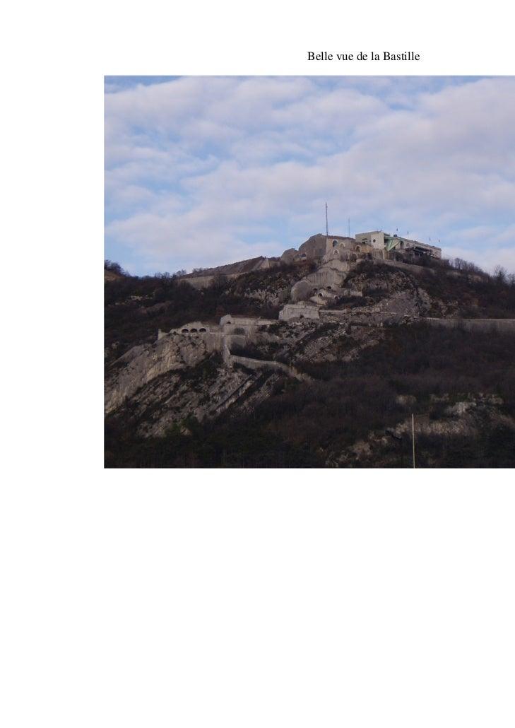 Belle vue de la Bastille