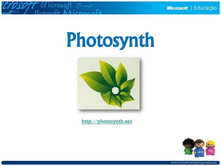 Photosynth    http://photosynth.net