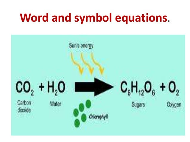 photosythesis formula How does photosynthesis work follow our simple guide for students to learn more about the process of photosynthesis, where plants use energy from the sun to make.