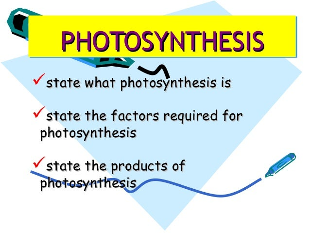 Photosynthesis 2013 new