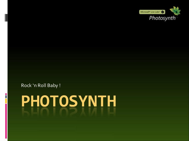 Photosynth Introduction