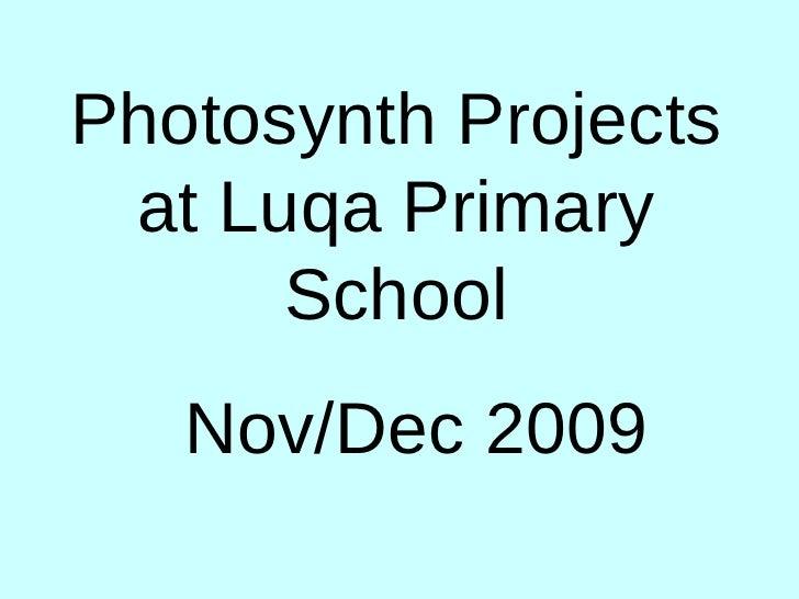 Photosynth photos