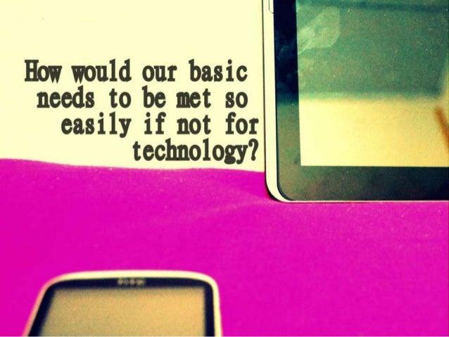 Technologyhas changed the way people       communicate
