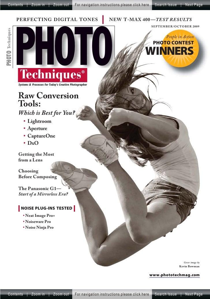 Photo Techniques Magazine   September,October 2009 (Malestrom)