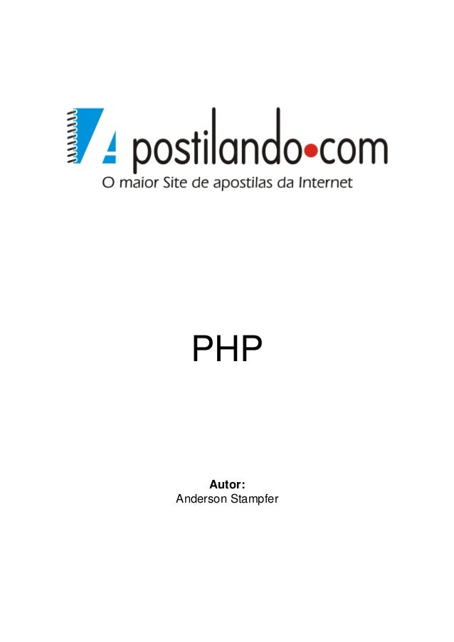 PHP     Autor:Anderson Stampfer