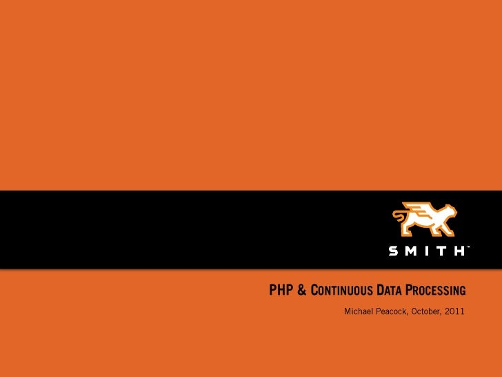 PHP Continuous Data Processing