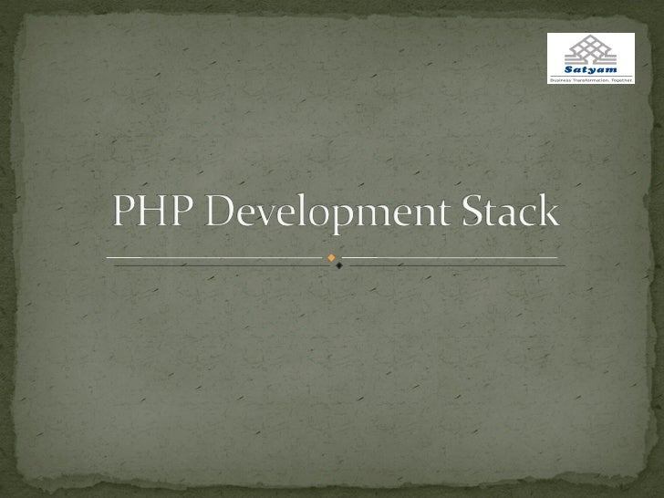Php Development Stack