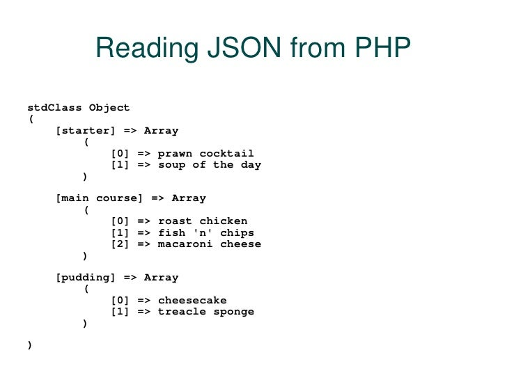 Create json file using PHP and MySQL