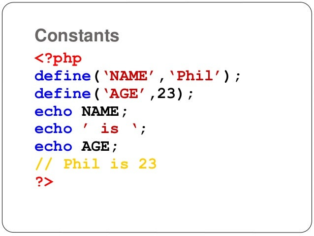 Php variable assignment