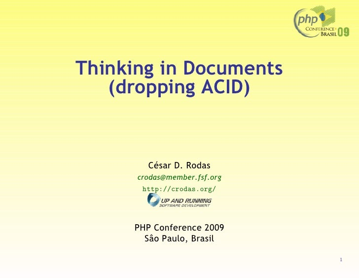 Thinking in documents