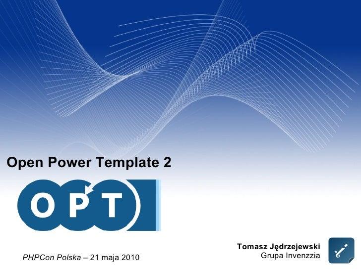 Open Power Template