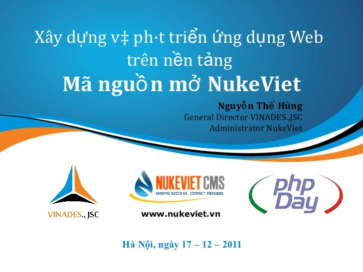 Php day 2011 -  Nukeviet