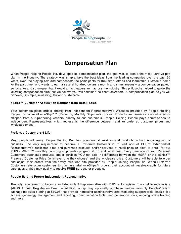 Phpi compensation