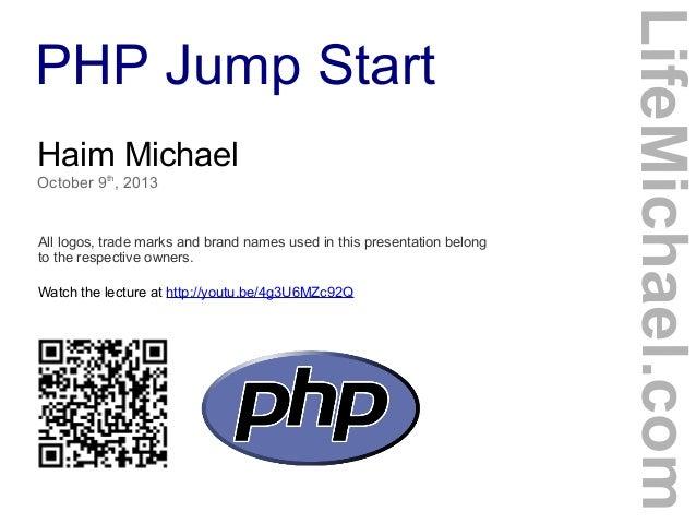PHP Jump Start