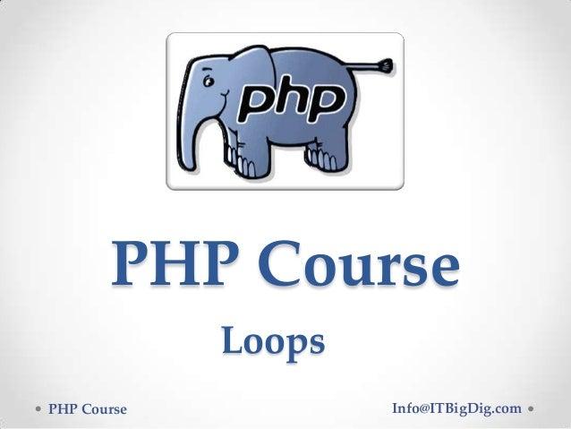 Loops PHP 04