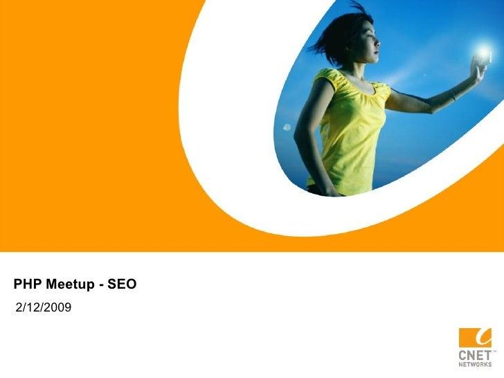 Php Meetup Seo
