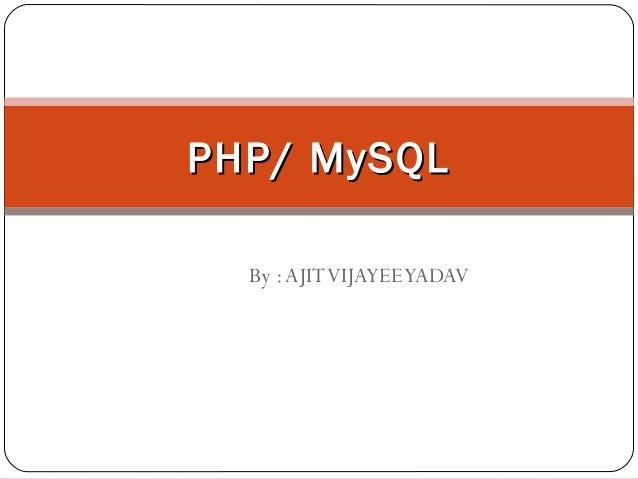 Php mysql