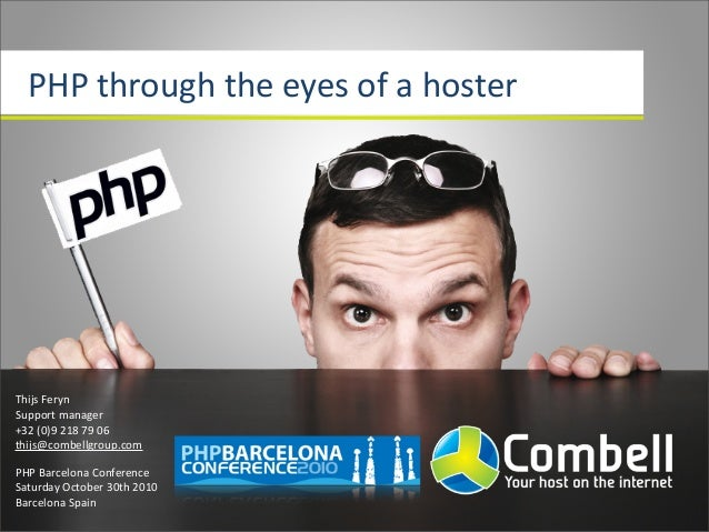 Php through the eyes of a hoster pbc10