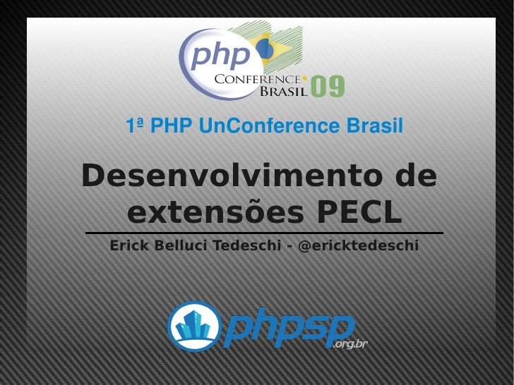 Desenvolvimento de Extensões PECL