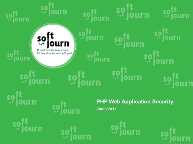 Php web app security (eng)