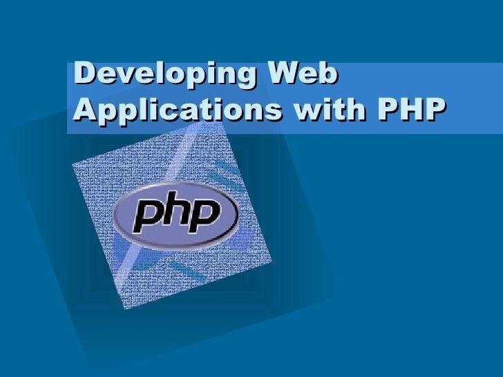 Phpwebdevelping