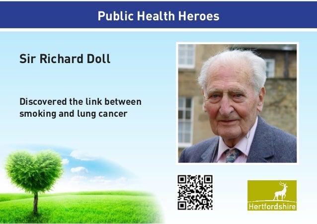 Public Health Heroes Instalment 1 (more are coming)
