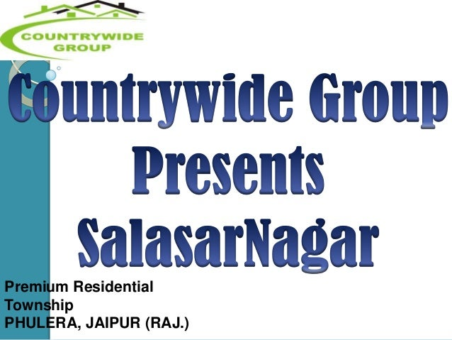 Premium Residential Township PHULERA, JAIPUR (RAJ.)