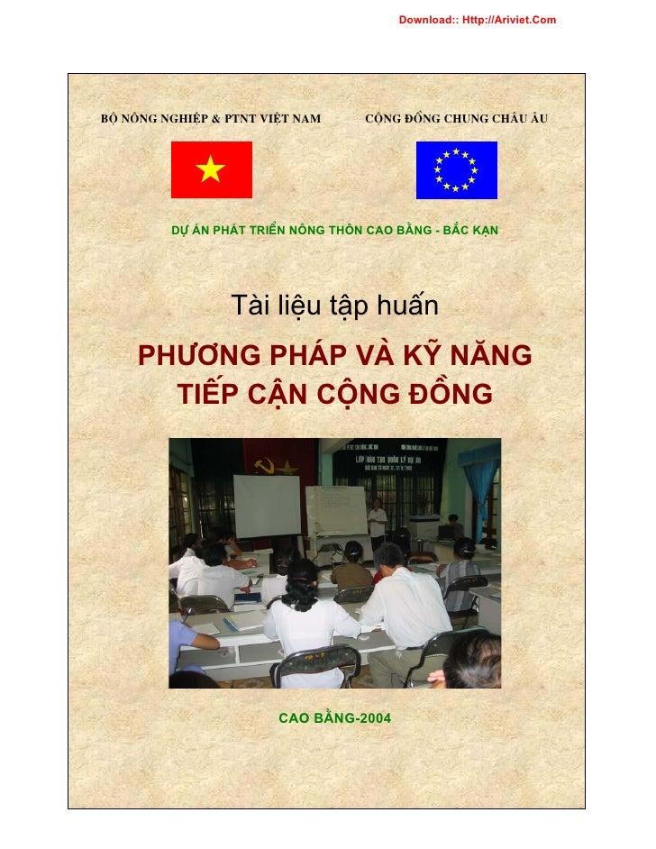 Download:: Http://Ariviet.Com     Bé N«ng nghiÖp & PTNT ViÖt Nam     Céng ®ång chung Ch©u ¢u              Dù ¸N PH¸T TRIÓN...